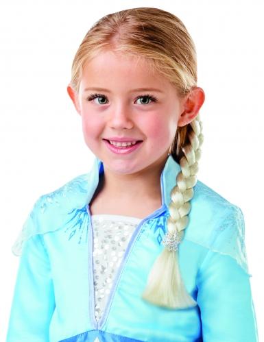 Blonde Elsa Frozen™ vlecht