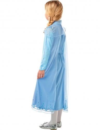 Elsa Frozen 2™ kostuum met cape voor meisjes-2