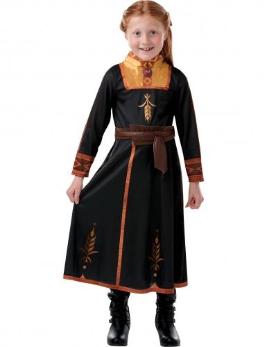 Klassiek Anna Frozen 2™ kostuum voor meisjes-2