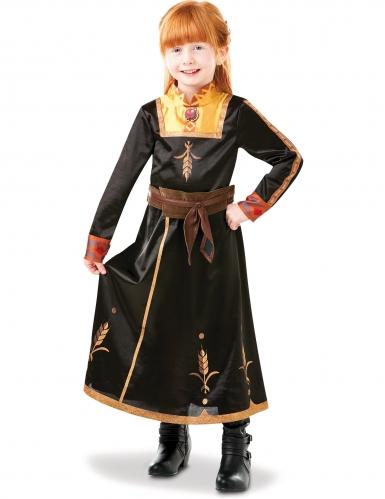 Luxe Anna Frozen 2™ kostuum voor meisjes-2