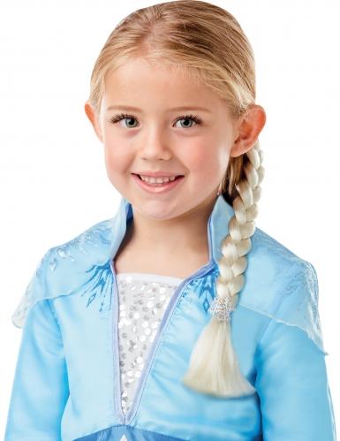Elsa Frozen 2™ kostuum pack met vlecht voor meisjes-1