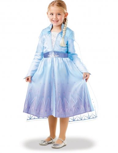 Elsa Frozen 2™ kostuum pack met vlecht voor meisjes-3