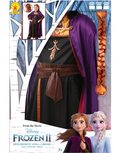 Anna Frozen 2™ kostuum en vlecht pack voor meisjes-1