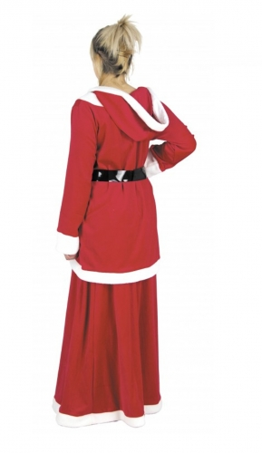 Sexy verleidelijke kerstvrouw kostuum voor vrouwen-1