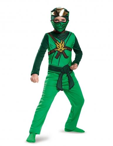 Groen Lego Ninjago™ Lloyd kostuum voor kinderen