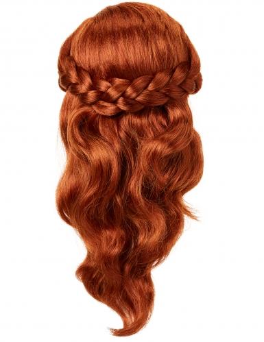 Luxe Anna Frozen 2™ pruik voor meisjes-1
