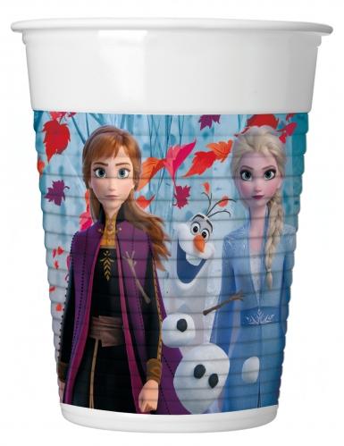 8 plastic Frozen 2™ bekers