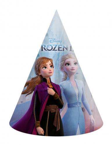 6 kartonnen Frozen 2™ feesthoedjes