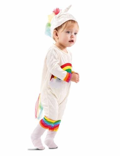 Regenboog eenhoorn kostuum voor baby's