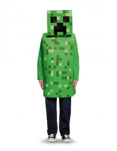 Klassiek Minecraft™ Creeper kostuum voor kinderen-1