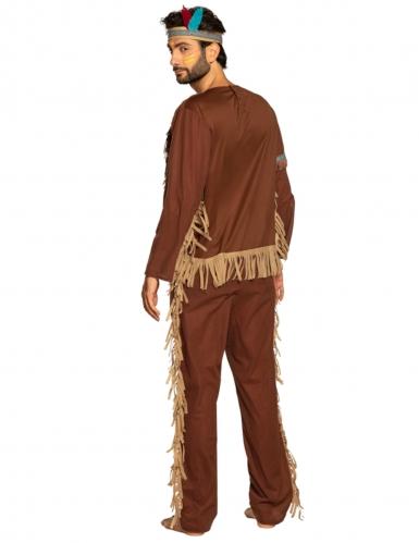Wijze indiaan kostuum voor mannen-1