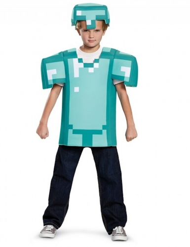 Minecraft™ pantser kostuum voor kinderen