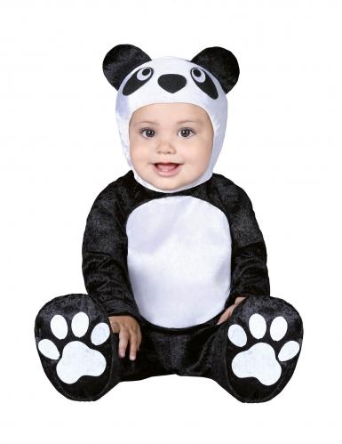 Kleine panda kostuum voor baby's