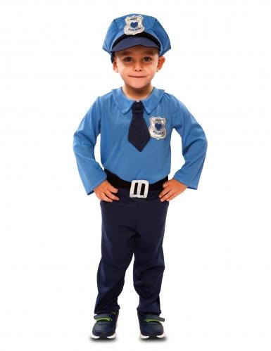 Politie agent kostuum voor baby's