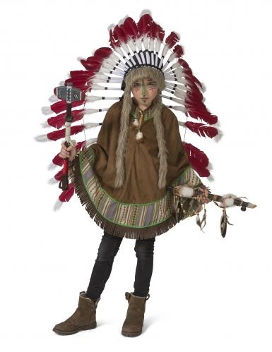 Indianen poncho voor kinderen