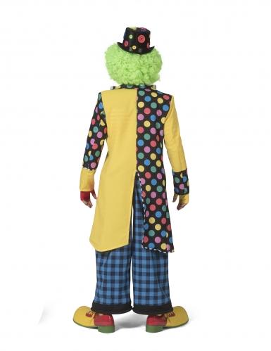 Que de pie clownsjas met strik voor mannen-1