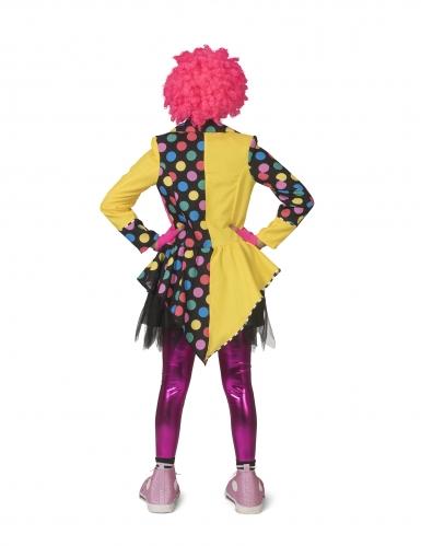 Veelkleurige clownsjas voor vrouwen-1