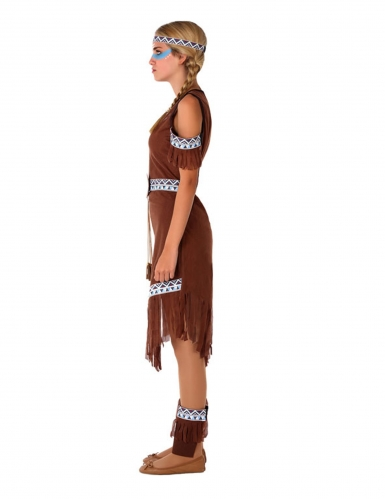 Tiener indianen kostuum voor meiden-1