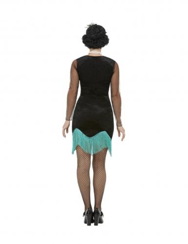 Jaren 20 pauw kostuum voor dames-1