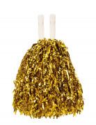 Goudmetaalkleurige pompon