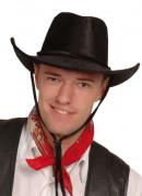 Zwarte cowboyhoed voor volwassenen