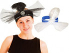 Charleston haarband met sluier voor volwassenen