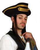 Luxe piratenhoed voor volwassenen