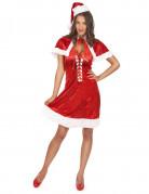 Kerstvrouwkostuum voor vrouwen