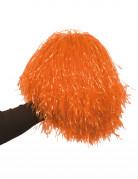 Oranje pompon