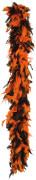 Oranje-zwarte boa