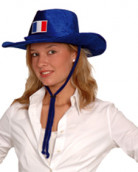 Cowboyhoed voor Frankrijksupporters