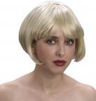 Korte blonde damespruik