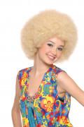 Blonde disco afropruik voor volwassenen