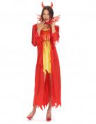 Rode duivel kostuum voor vrouwen