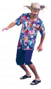 Kostuum Hawaïaanse toerist voor mannen