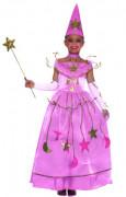 Roze sterrenfeeënkostuum voor meisjes