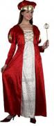 Middeleeuws prinsessenkostuum voor dames