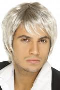 Blonde boysbandpruik voor mannen