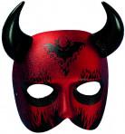 Half duivelsmasker voor volwassenen
