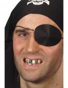 Zwarte make-up voor tand voor volwassenen Halloween