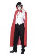 Rode Draculacape voor volwassenen voor Halloween