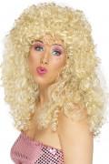 Blonde minettepruik voor dames