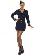 Sexy stewardessen kostuum voor vrouwen