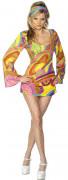 Sexy hippiekostuum voor vrouwen