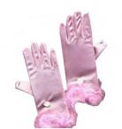 Roze handschoenen voor meisjes