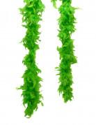 Groene boa met veren voor volwassenen