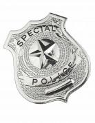 Metalen politie agent badge volwassenen