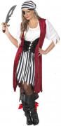 Kostuum van een piratenkoningin voor dames