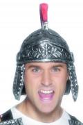 Zilverkleurige Romeinse soldatenhelm