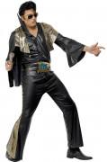 Zwarte Elvis Presley™ outfit voor mannen